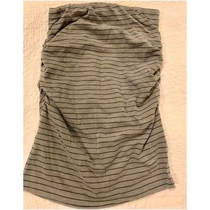Sundry pinstriped sleeveless top